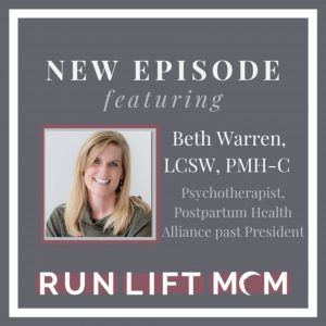 image of Run Lift Mom podcast